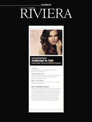 cindy borella - riviera magazine article